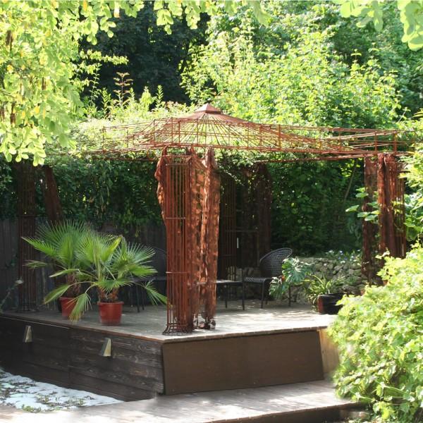 pavillon metall empire pavillonwelt. Black Bedroom Furniture Sets. Home Design Ideas