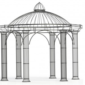 xxl pavillon athene pavillonwelt. Black Bedroom Furniture Sets. Home Design Ideas